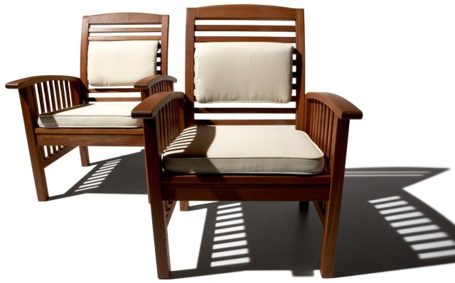 Wood patio chairs home decor and furniture deals for Garden furniture deals